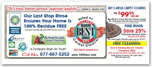 carpet cleaning specials beverly hills