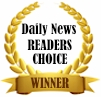 Daily News Readers Choice Winner